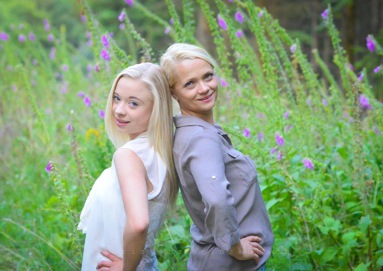 Mutter und Tochter » foto meinzenbach